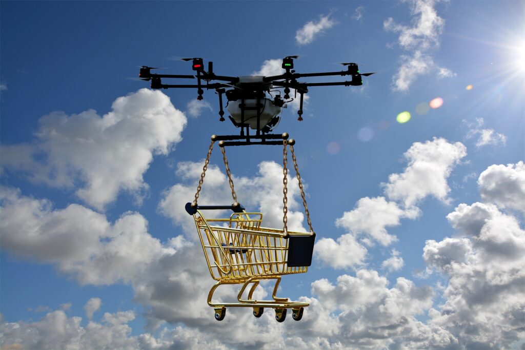 history-of-drone-deliver-service